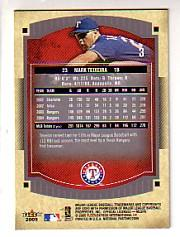 2005 National Pastime #3 Mark Teixeira back image