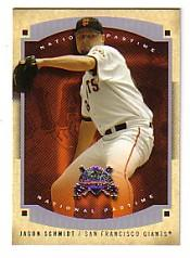 2005 National Pastime #10 Jason Schmidt