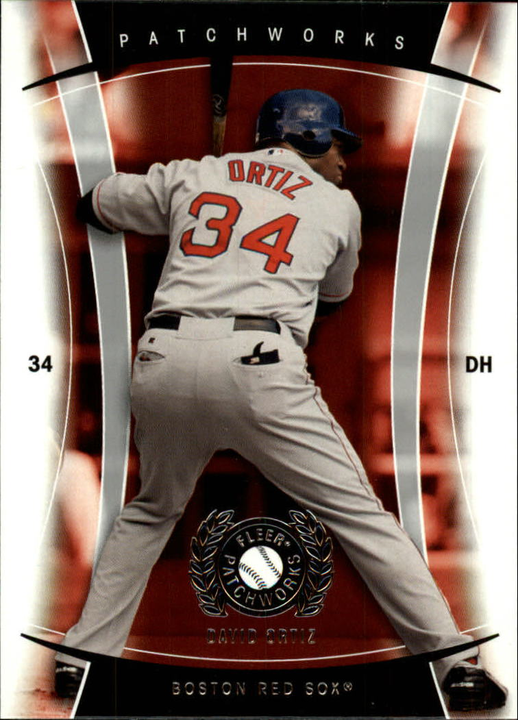 2005 Fleer Patchworks #5 David Ortiz