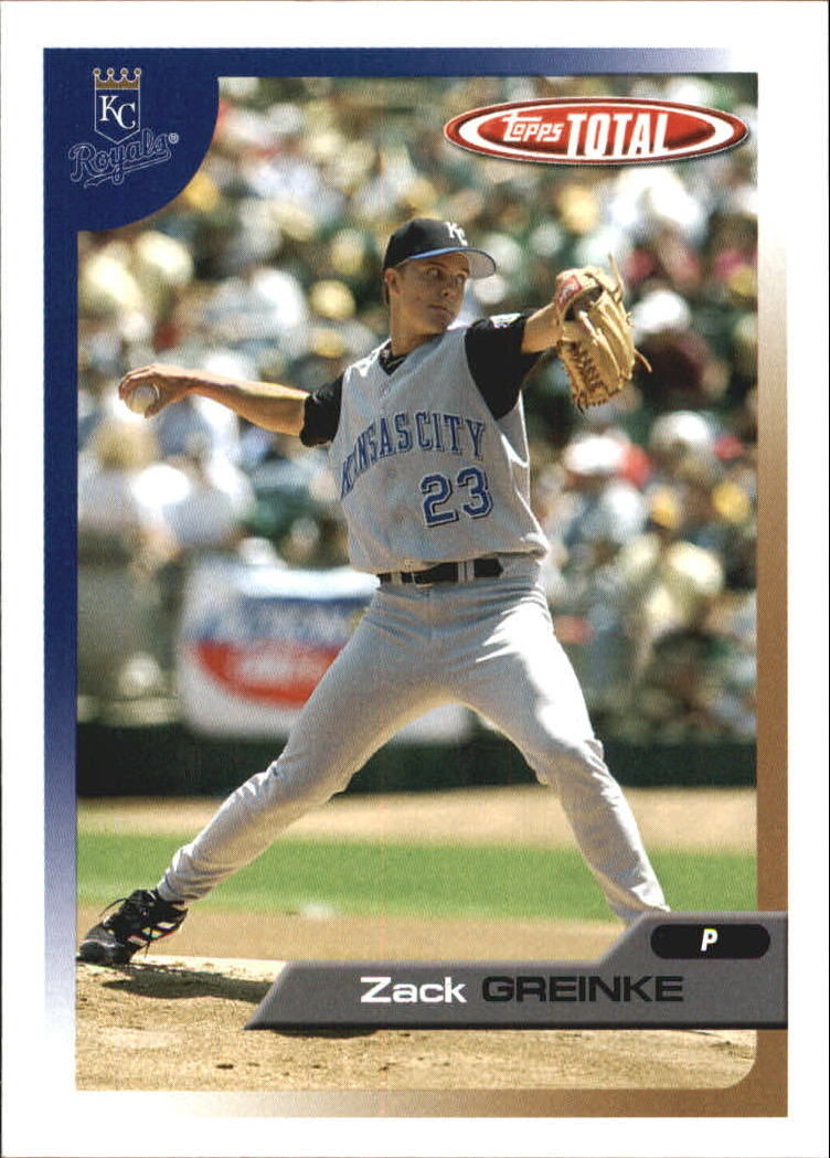 2005 Topps Total Team Checklists #13 Zack Greinke