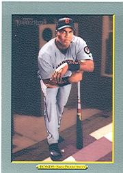 2005 Topps Turkey Red #1A B.Bonds Grey Uni SP