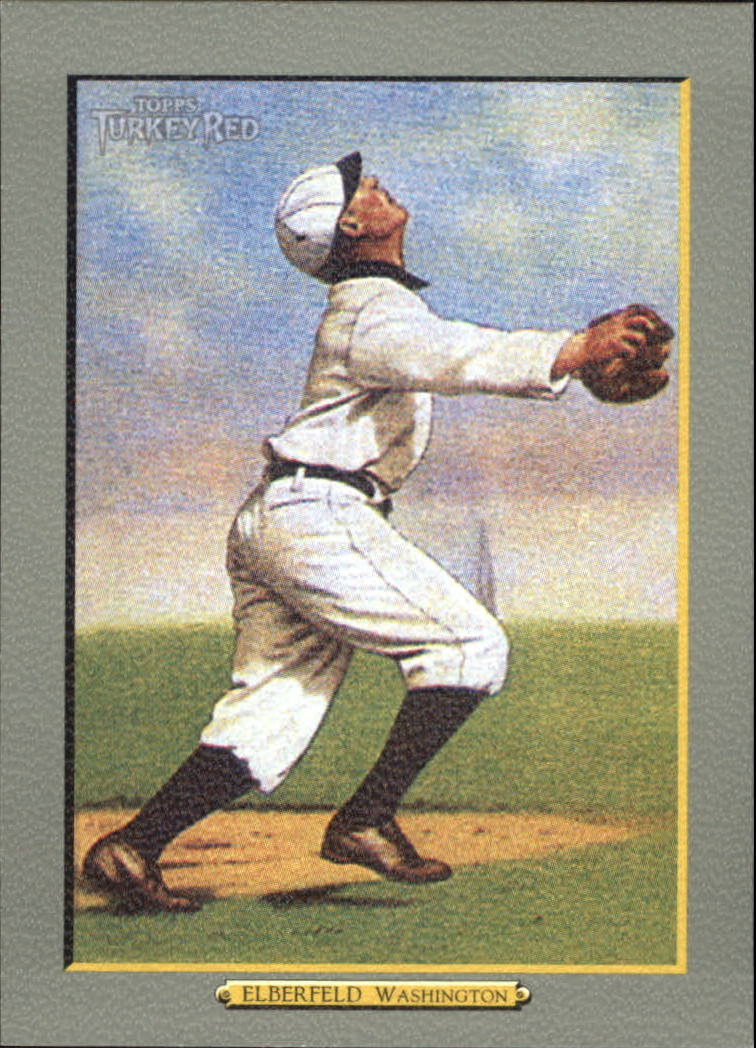 2005 Topps Turkey Red #15 Kid Elberfeld REP