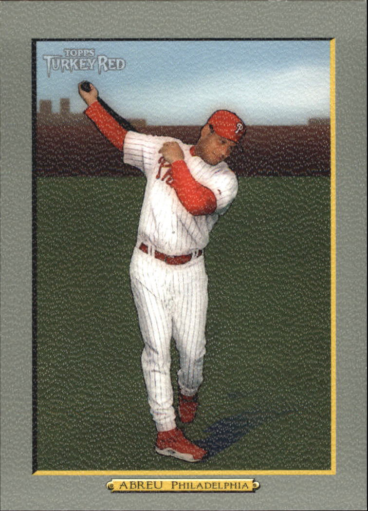 2005 Topps Turkey Red #27 Bobby Abreu