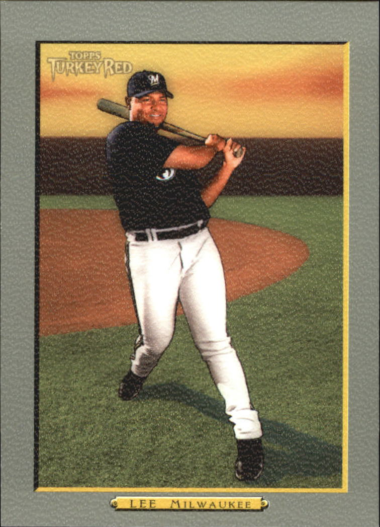 2005 Topps Turkey Red #37 Carlos Lee
