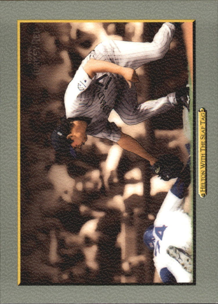 2005 Topps Turkey Red #47 Helton With the Slap Tag CL