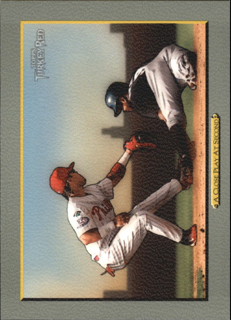 2005 Topps Turkey Red #49 A Close Play J.Rollins CL