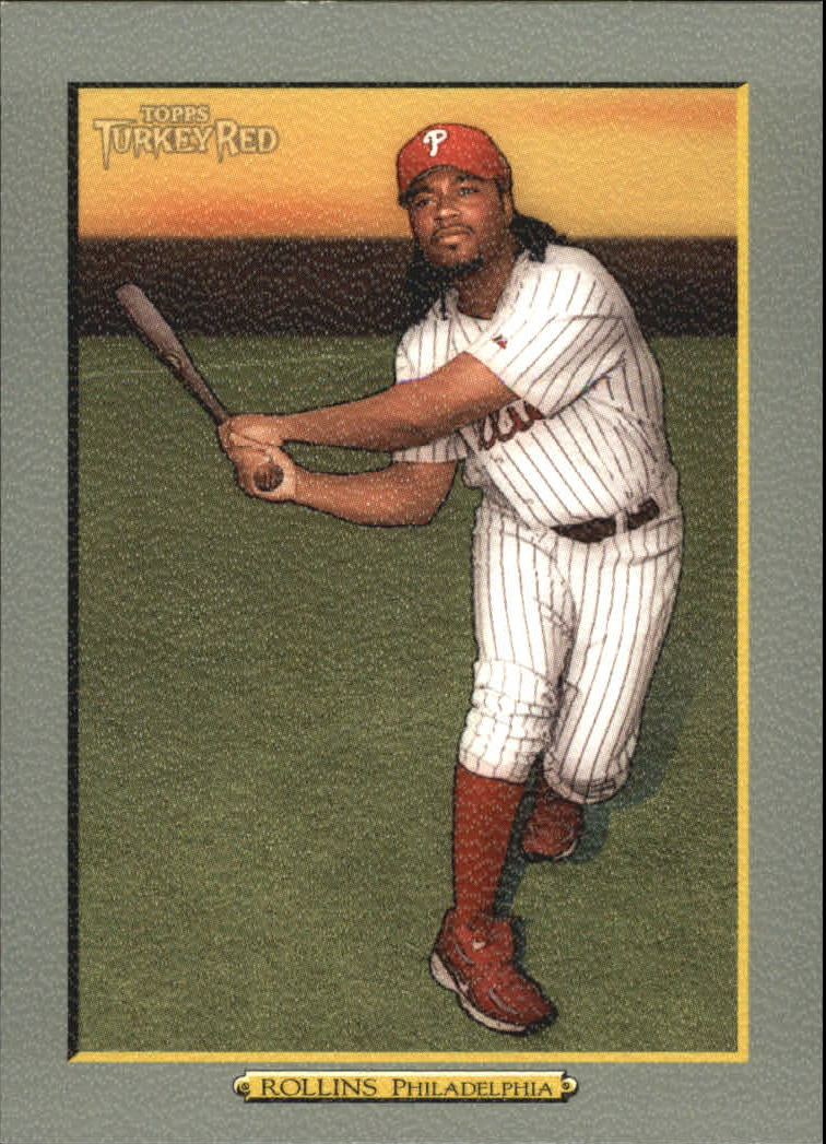 2005 Topps Turkey Red #112 Jimmy Rollins