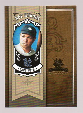 2005 Diamond Kings HOF Heroes #23 Babe Ruth