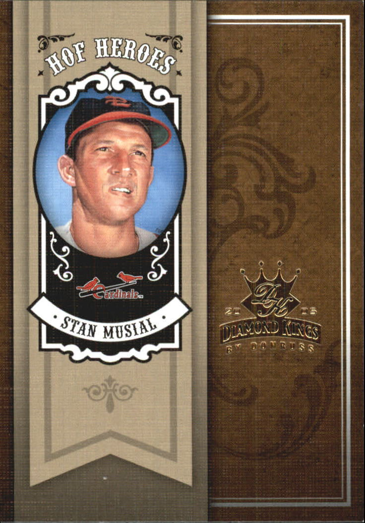 2005 Diamond Kings HOF Heroes #29 Stan Musial