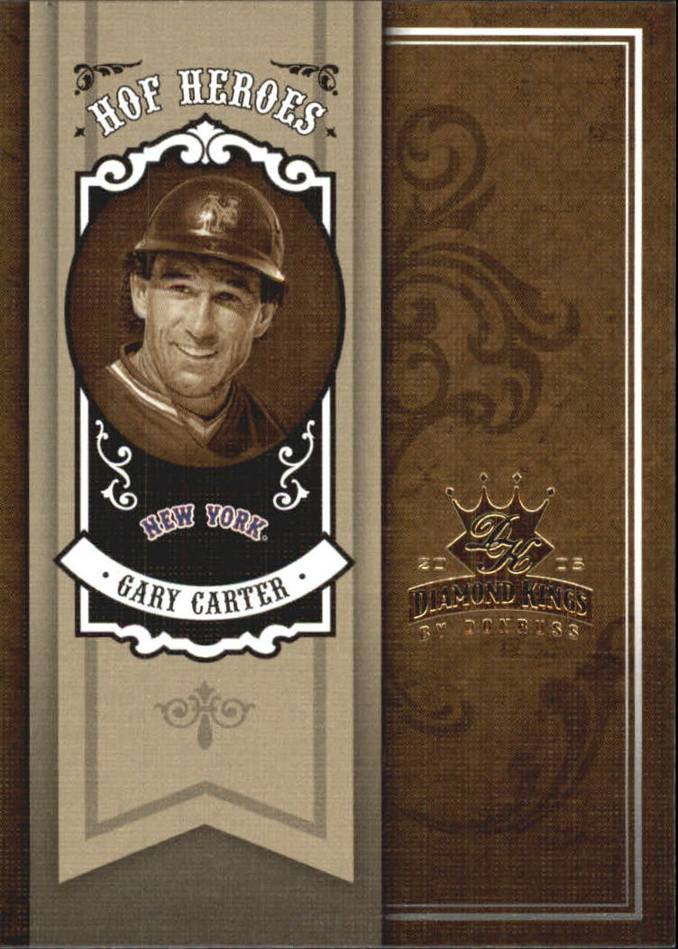 2005 Diamond Kings HOF Heroes #44 Gary Carter