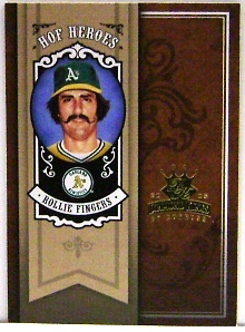 2005 Diamond Kings HOF Heroes #66 Rollie Fingers
