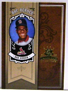 2005 Diamond Kings HOF Heroes #73 Bob Gibson