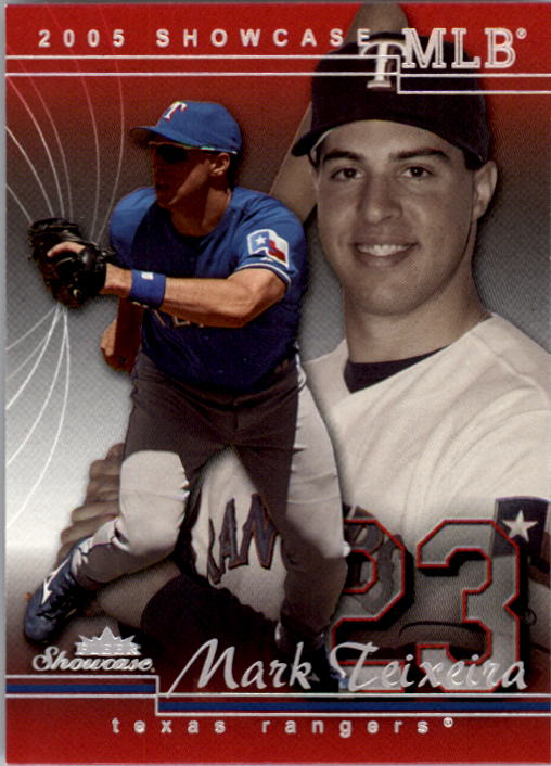 2005 Fleer Showcase #9 Mark Teixeira