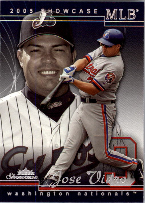 2005 Fleer Showcase #46 Jose Vidro