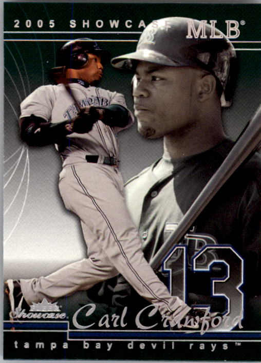 2005 Fleer Showcase #66 Carl Crawford