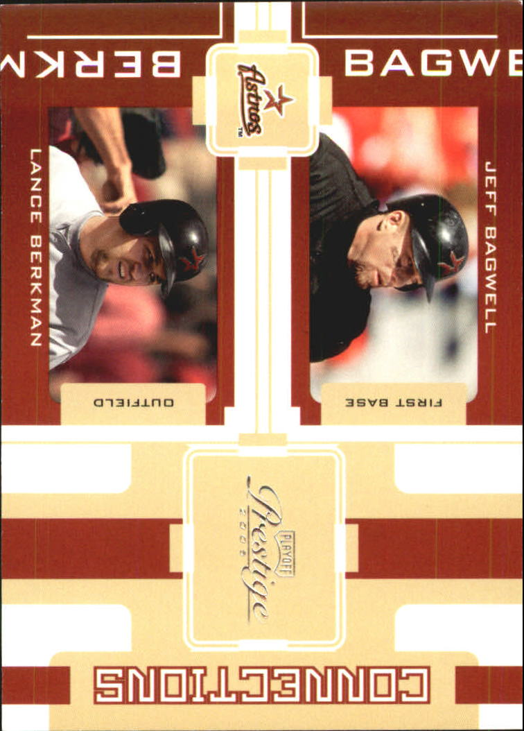 2005 Playoff Prestige Connections #5 J.Bagwell/L.Berkman