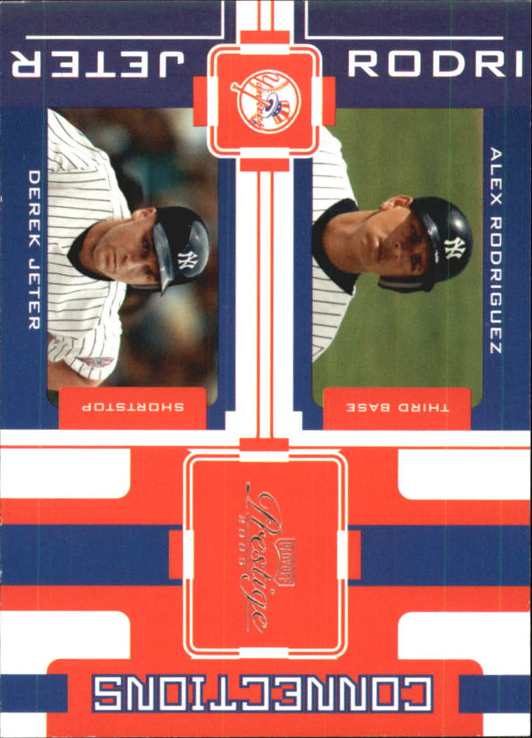 2005 Playoff Prestige Connections #13 A.Rodriguez/D.Jeter