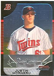 2005 Bowman Chrome #20 Justin Morneau