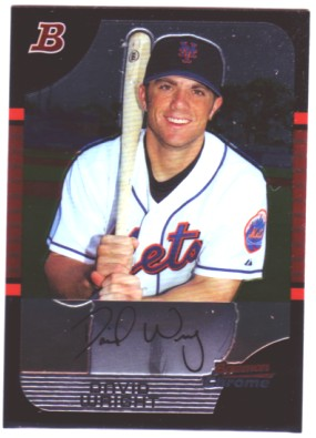 2005 Bowman Chrome #35 David Wright