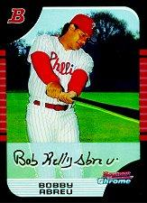 2005 Bowman Chrome #58 Bobby Abreu
