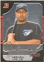 2005 Bowman Chrome #63 Vernon Wells