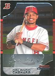 2005 Bowman Chrome #64 Orlando Cabrera