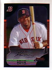 2005 Bowman Chrome #78 David Ortiz