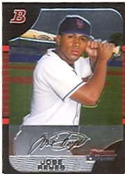 2005 Bowman Chrome #82 Jose Reyes