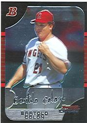 2005 Bowman Chrome #85 Bartolo Colon