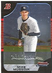 2005 Bowman Chrome #87 Mike Mussina