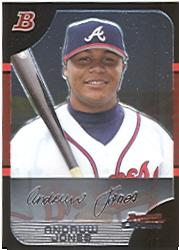 2005 Bowman Chrome #93 Andruw Jones