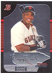 2005 Bowman Chrome #100 Barry Bonds front image