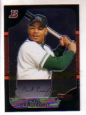 2005 Bowman Chrome #108 Carl Crawford