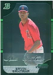 2005 Bowman Chrome #154 Ervin Santana front image
