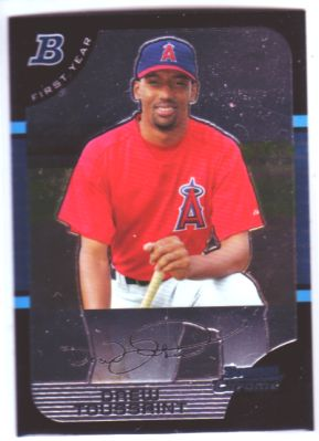 2005 Bowman Chrome #220 Drew Toussaint RC