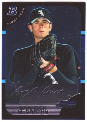 2005 Bowman Chrome #230 Brandon McCarthy RC