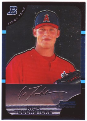 2005 Bowman Chrome #280 Nick Touchstone RC