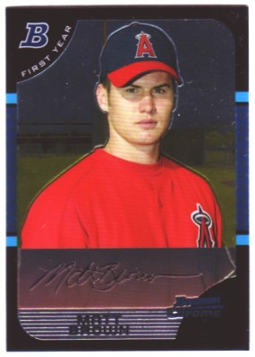 2005 Bowman Chrome #302 Matt Brown RC