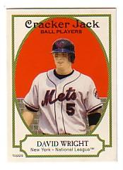 2005 Topps Cracker Jack #1 David Wright SP