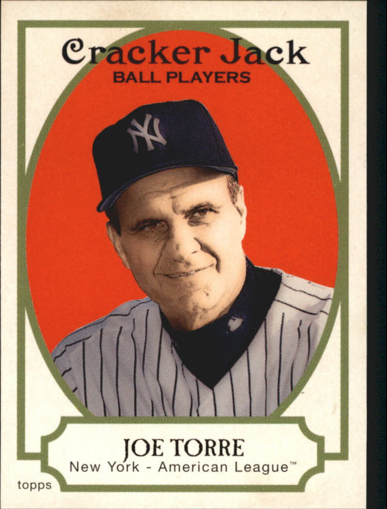2005 Topps Cracker Jack #12 Joe Torre MG