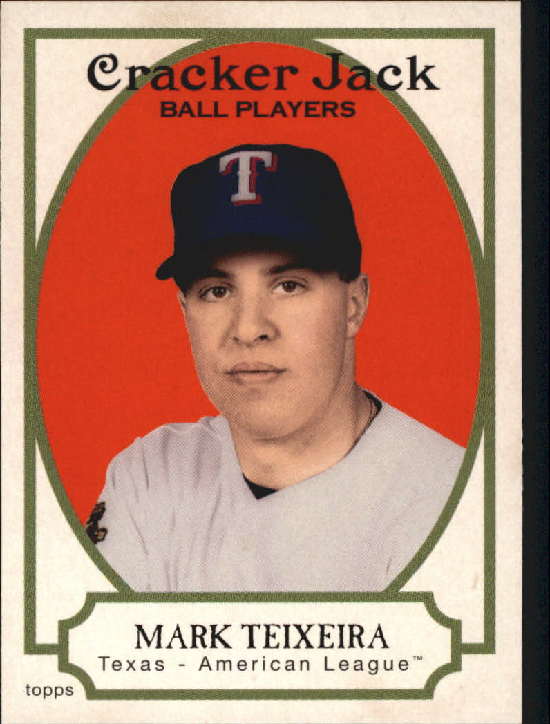 2005 Topps Cracker Jack #22 Mark Teixeira