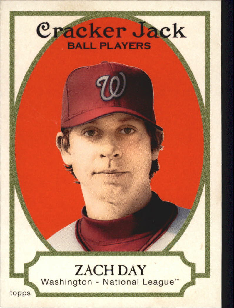 2005 Topps Cracker Jack #32 Zach Day