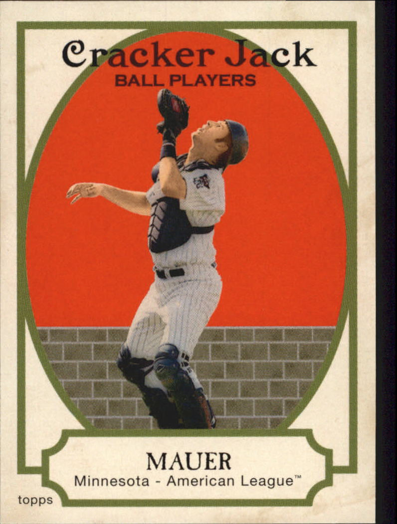 2005 Topps Cracker Jack #36 Joe Mauer