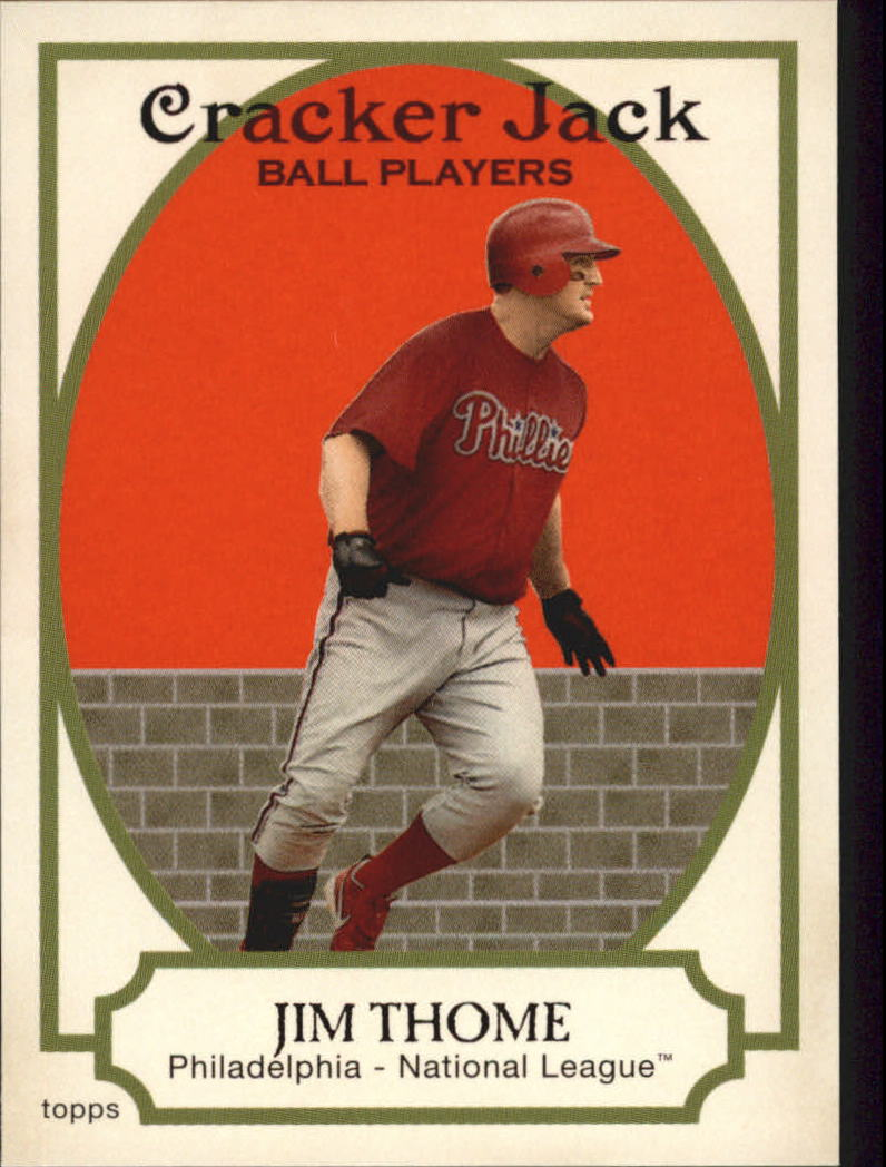 2005 Topps Cracker Jack #45 Jim Thome