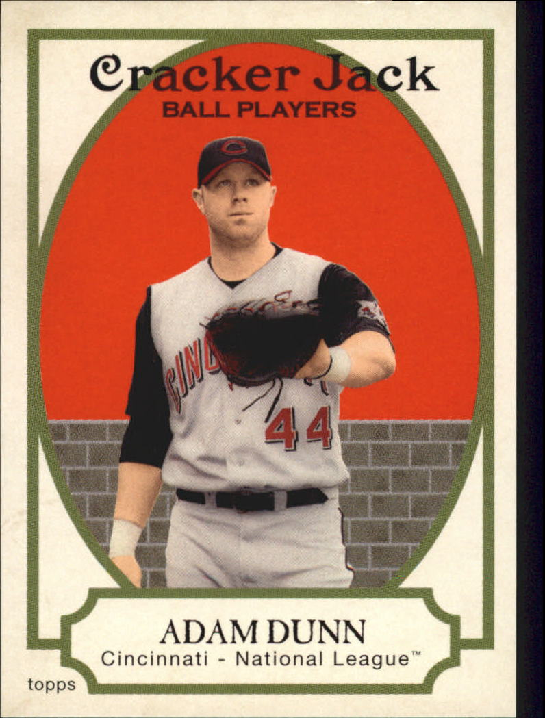 2005 Topps Cracker Jack #49 Adam Dunn