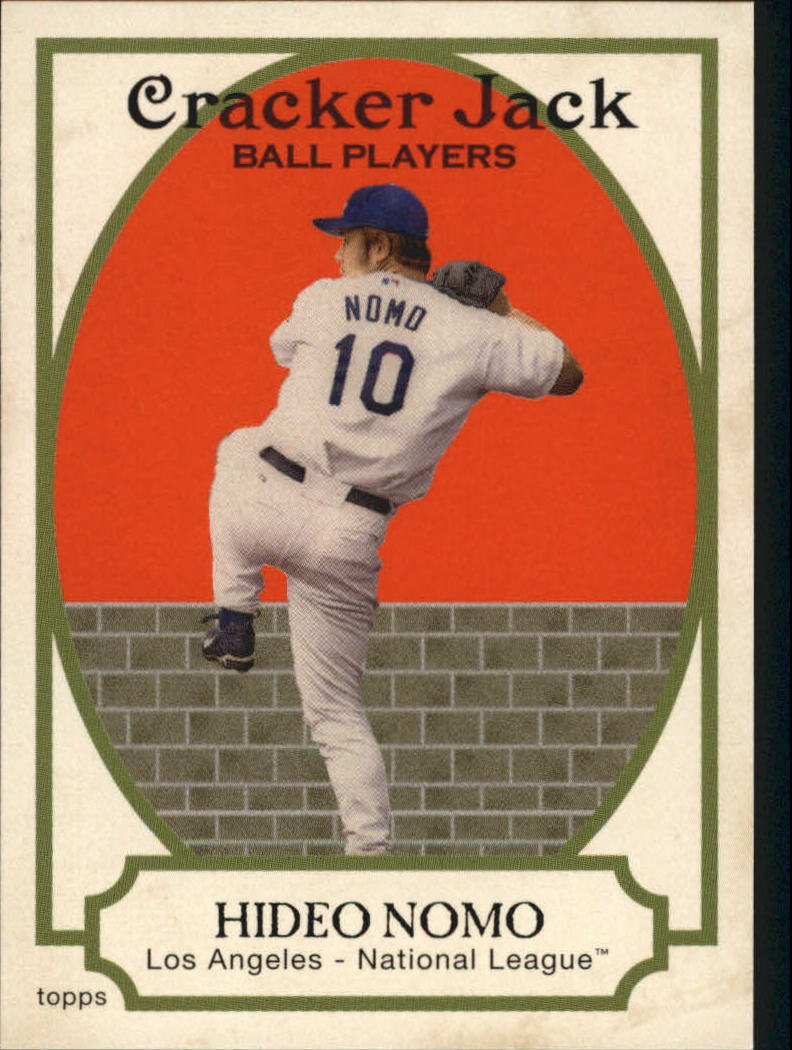 2005 Topps Cracker Jack #116 Hideo Nomo
