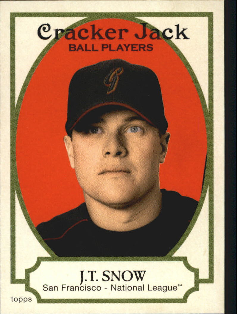 2005 Topps Cracker Jack #171 J.T. Snow