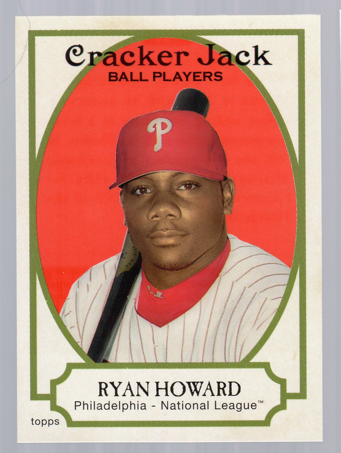 2005 Topps Cracker Jack #182 Ryan Howard