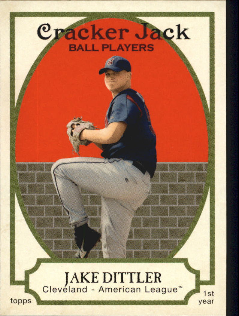 2005 Topps Cracker Jack #199 Jake Dittler