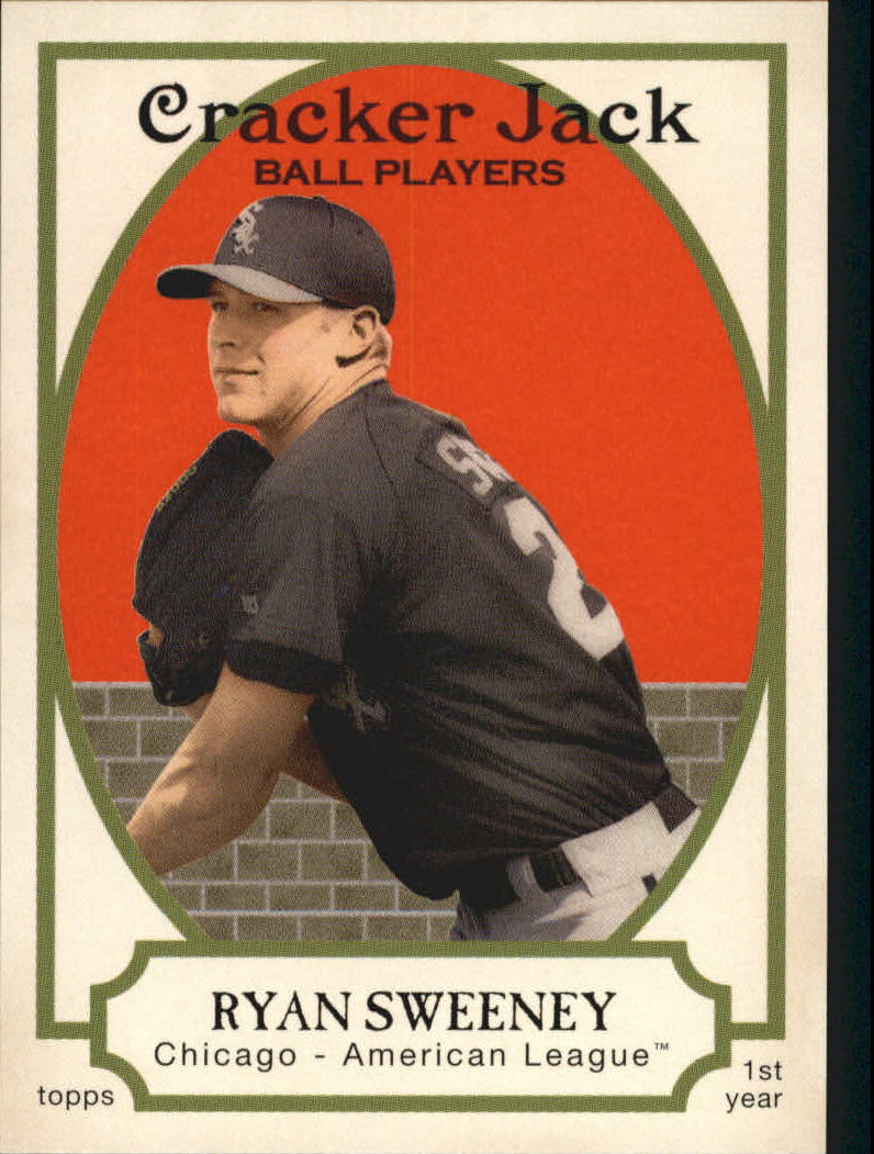 2005 Topps Cracker Jack #215 Ryan Sweeney RC